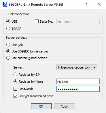 remote server config
