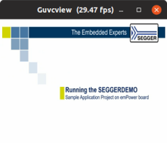 SEGGER UVC Screenshot